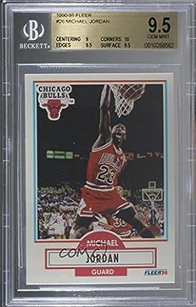 be73e1a8edae6 Amazon.com: Michael Jordan Graded BGS 9.5 GEM MINT (Basketball Card ...