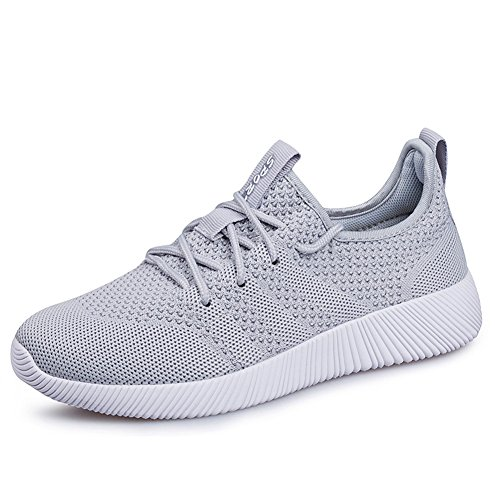 Sneakers STEELEMENT Lightweight Shoes Womens Grey Mesh Fashion Breathable Walking Running Shoes Casual qrCr6wFx