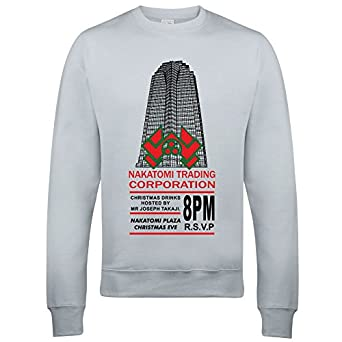 nakatomi trading corporation christmas party sweatshirt inspired by die hard m