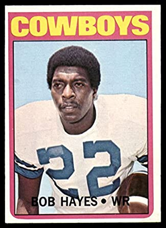 on sale 3873b f19c3 Amazon.com: Football NFL 1972 Topps #105 Bob Hayes Ex-Mint ...