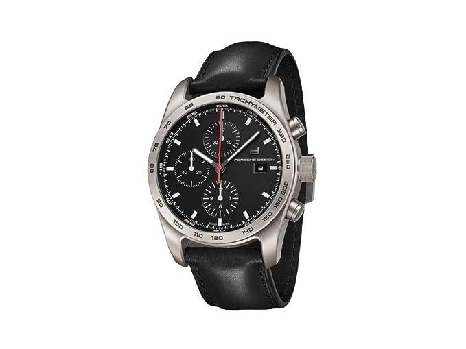 Reloj Automático Porsche Design, Titanio, Cronógrafo, COSC, 6011.10.406.113: Amazon.es: Relojes