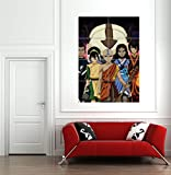 AVATAR LAST AIRBENDER ANIMATED MOVIE FILM GIANT ART PRINT POSTER PICTURE B1009