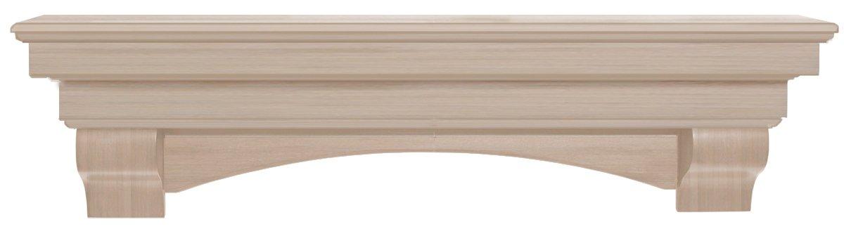 Amazon.com: Pearl Mantels 495-72 Auburn Arched 72-Inch Wood ...