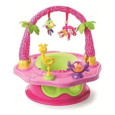 Summer Infant Deluxe Superseat Island Giggles in Pink - Summer Infant Sweet