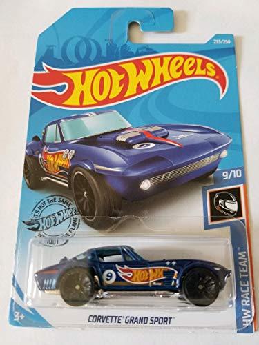 Hot Wheels 2019 Hw Race Team Corvette Grand Sport Blue 233250 / Hot Wheels 2019 Hw Race Team Corvette Grand Sport Blue 233250