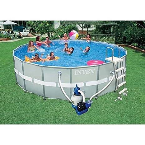 Come faccio a collegare il mio Intex piscina pompa