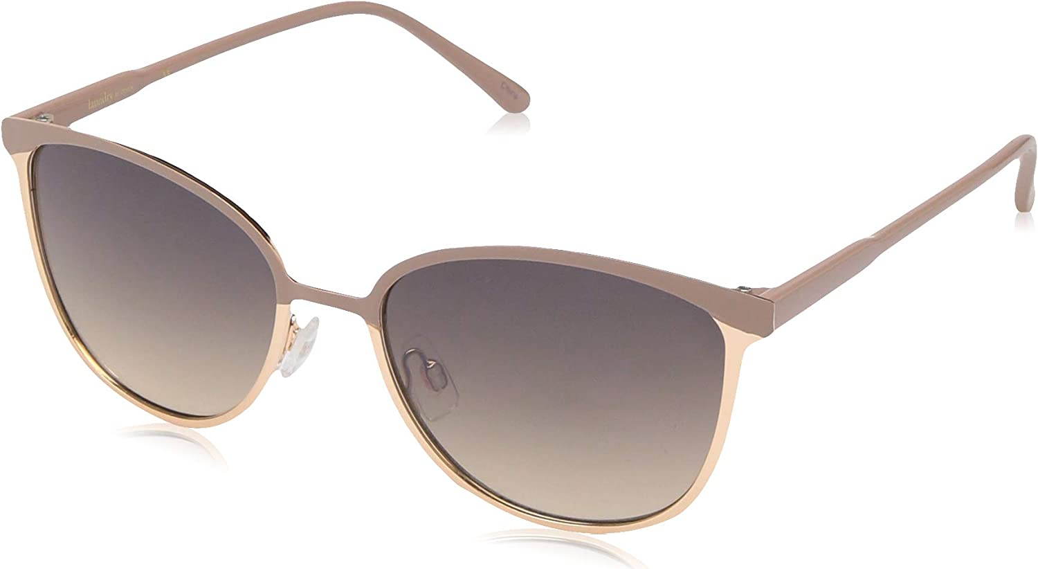 Laundry by Design Women's LD244 Rectangular Sunglasses with 100% UV Protection, 55 mm