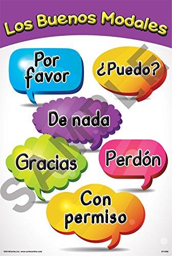 POLITE WORDS POSTER (SPANISH)