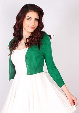 8eaf05f5 Sidecca Classic V-Neck 3/4 Sleeve Button Cardigan Regular and Plus Size  Bolero at Amazon Women's Clothing store: