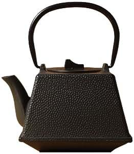 Old Dutch Cast Iron Kobe Teapot, 29-Ounce, Black