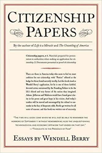 citizenship papers wendell berry com books