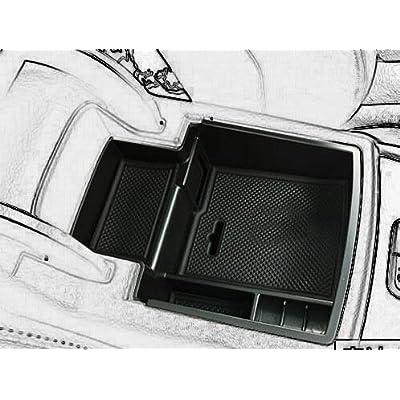 Car Center Console Tray Armrest Secondary Storage Center Console Organizer Car Glove Box for 2008-2016 Audi Q5 by Kaungka: Automotive [5Bkhe1507352]