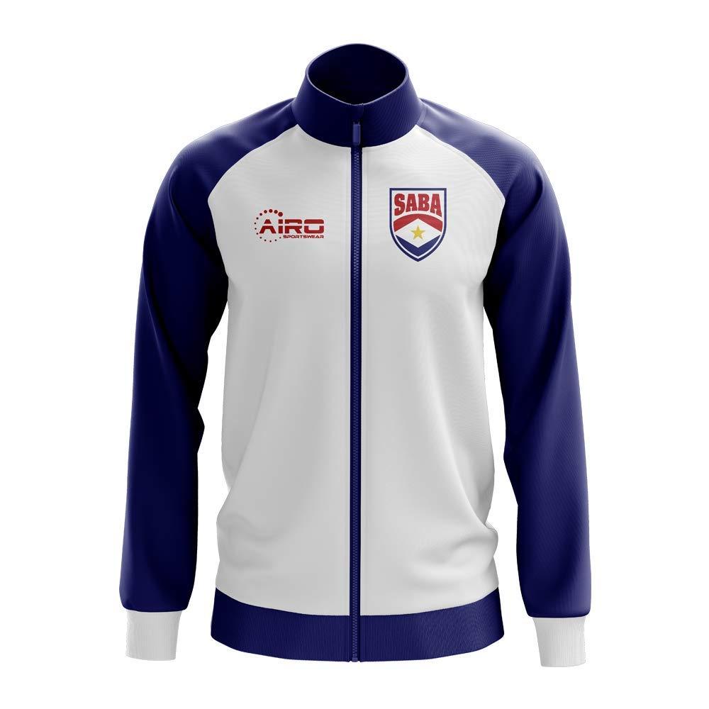 Airo Sportswear Saba Concept Football Track Jacket (Weiß) - Kids