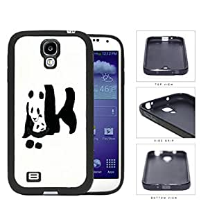 Giant Panda Bear With Child Rubber Silicone TPU Cell Phone Case Samsung Galaxy S4 SIV I9500