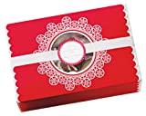 Martha Stewart Crafts Snow Lace Matchbox Treat Boxes