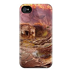 Awesome Design Fierce Tales Dogs Heart09 Hard Case Cover For Iphone 4/4s