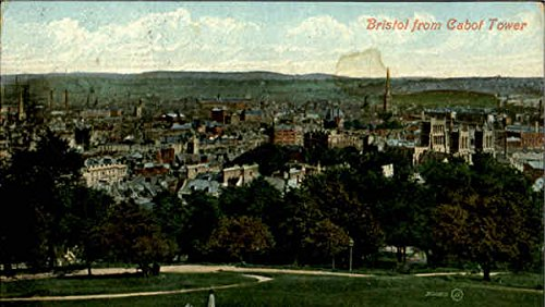 Bristol from Cabot Tower Other England Original Vintage Postcard from CardCow Vintage Postcards