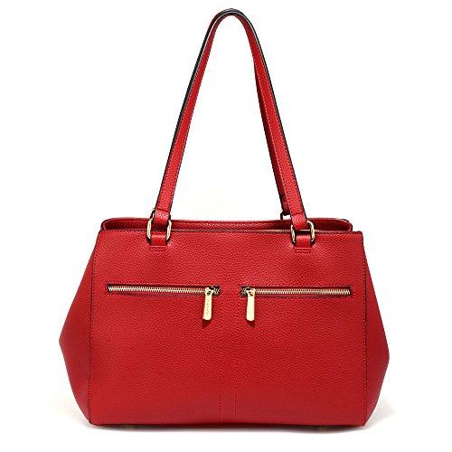 De Magníficos Uk Mujeres De Bolsa La Las Rojo Unido Reino Women's Gratis Color Front Tote Delante Asas Pockets Free Entrega Delivery Gorgeous De Bolsillos Red Bag ORZwq7