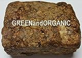 100% Natural Herbal Virgin RAW Organic GREENandORGANIC Pure African Black Soap 4 Lbs BAR Premium Acne Eczema Skin cleanser Unrefined Ghana West Africa Bath Face Body Hair Scalp Dandruff For Sale