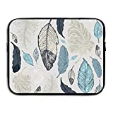 Drawn Feather Laptop Case Bags Printed Briefcase Sleeve Bags Cover For Macbook Pro/Notebook/Acer/Asus/Lenovo Dell