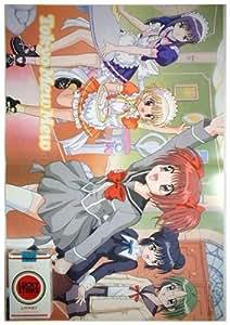 Promo Poster Galaxy Angel Tokyo Mew Mew Power Ichigo Pudding Mint Zakuro Lettuce A7281