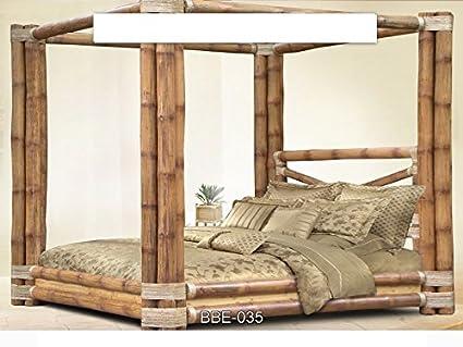 Letto Baldacchino Bambu.Fantasie D Oriente Letto Matrimoniale Baldacchino Bambu