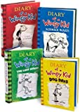 img - for Diary of a Wimpy Kid, Books 1-4: Diary of a Wimpy Kid, Rodrick Rules, The Last Straw, and Dog Days book / textbook / text book