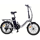 Electric Bikes Pro and Cons - Cyclamatic CX2 Bicycle Electric Foldaway Bike