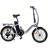 Cyclamatic CX2 Bicycle Electric Foldaway Bike Lithium-Ion Battery