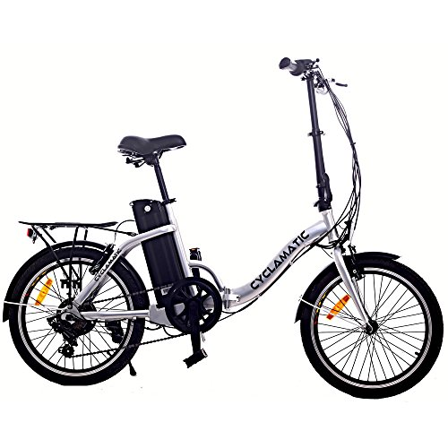Cyclamatic CX2 Bicycle Electric Foldaway Bike with Lithium-I