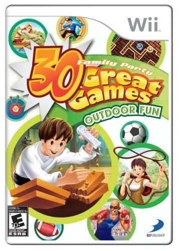 Family Party: 30 Great Games Outdoor Fun - Nintendo Wii (Family Party 30 Great Games For Wii)