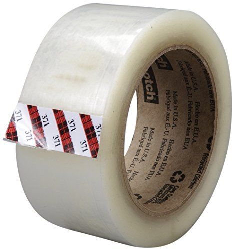 Scotch Box Sealing Tape 371 Clear, 48 mm x 100 m (Case of ()