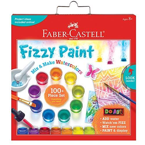 Faber Castell Do Art Fizzy Paint, Mix & Make Liquid Watercolors - Watercolor Paint Set for Kids (Renewed)