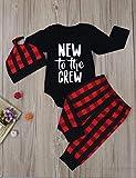 Newborn Baby Boy Girl Clothes Little Man Long
