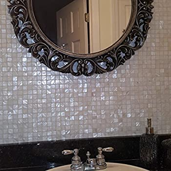 Amazon com: 2 Inch Diamond Shape Mirror Mosaic Tile  25 pcs: Arts
