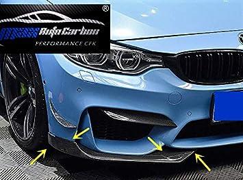 Max Auto Carbon Front Frontspoiler Schwert Splitter Passend Für M3 F80 M4 F82 83 Auto
