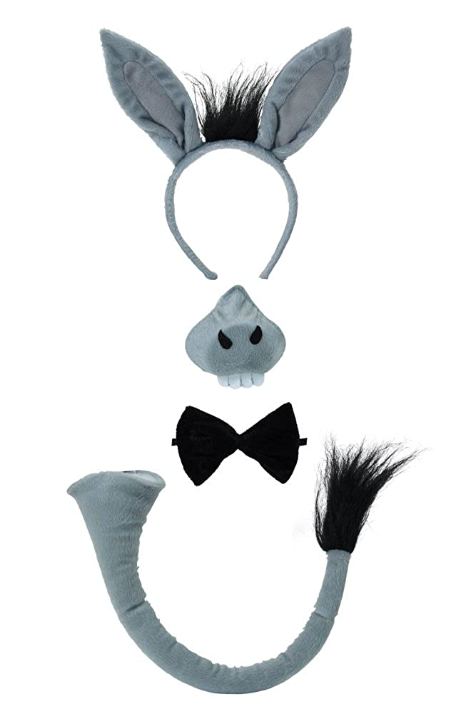 Donkey Set With Sound - Kids Accessory Set fancy dress warehouse DS123