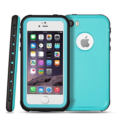 TNP iPhone Waterproof Case Blue