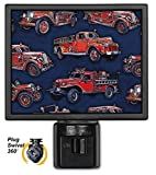 Art Plates NL-1265 Vintage Fire Trucks Night Light