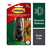 Command Outdoor Bronze Metal Hook (FC13-ORB-AWES)