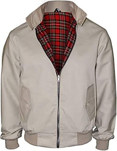 Kentex Online Mens Harrington UK Sizes Retro Smart Classic Jacket