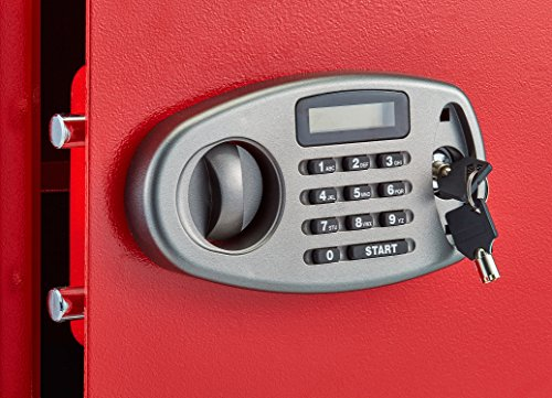 AdirOffice Security Safe with Digital Lock - Red - 2.32 Cubic Feet by Adir Corp. (Image #6)