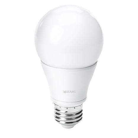 Bombilla LED Omini A19 de 15 W, base media (E26), luz blanca