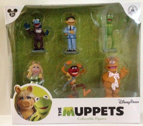 Disney Park Muppets Figurine Playset Set of 6 Figures (Beaker From Muppets)