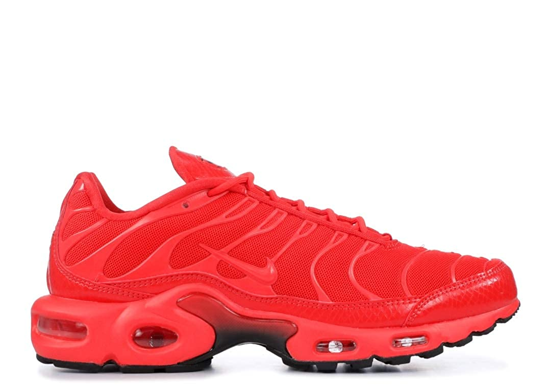 nike air max plus womens all red