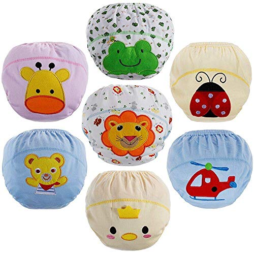 Lictin Underwear Potty Training Pants,7pcs Reusable Toddlers Kids Potty...