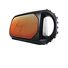 Grace Digital Audio - Orange EcoStone Bluetooth Speaker
