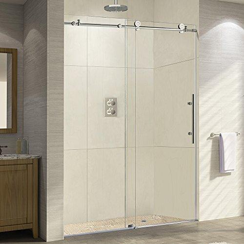 frameless shower door 60 - 2