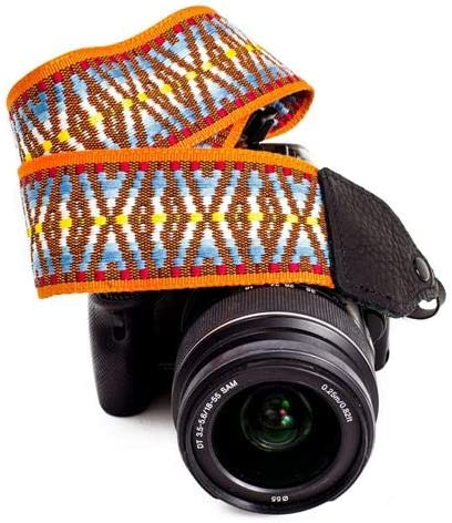 Perris Leathers CSN-35 Nylon Camera Strap Hootenanny