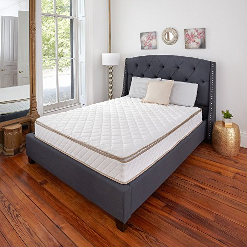 Classic Brands Individually Wrapped Coils Innerspring Pillow Top 10-Inch Mattress for Added Comfort and Support, Twin